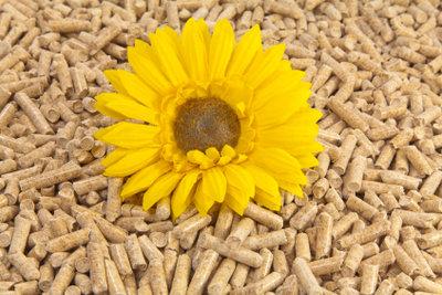 Pellets können auch zum Heizen verwendet werden.