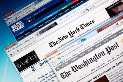 Die New York Times gedruckt oder digital lesen.