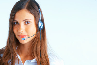 Das Service-Telefon ist nur eine Möglichkeit der Kontaktaufnahme.