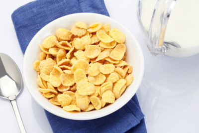 Auch während einer Diät schmecken Cornflakes.