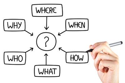 Das Consulting beginnt meist mit einer Situationsanalyse.