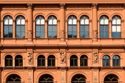 Um 1900 entwickelte sich in der Architektur der Jugendstil.