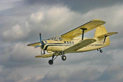Auf Flugzeuge wirkt die dynamische Last.