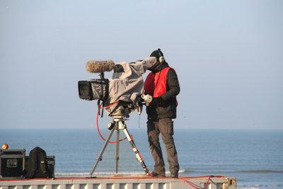 Der Verdienst eines Kameramanns ist auch vom Arbeitsumfang abhängig.