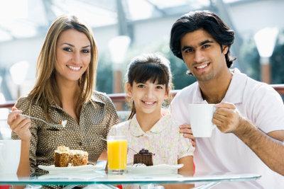 Arabische Familie: Aufgeschlossen traditionelle Werte leben.