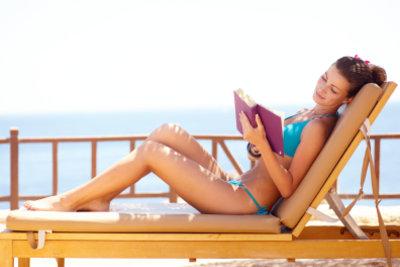 Die Bikinifigur braucht auch Muße und Entspannung.