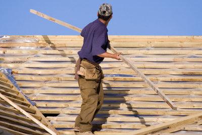 Ein Dach muss richtig gedeckt werden.