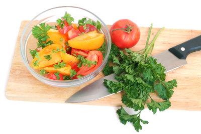 Salat, abends verzehrt, ist nicht gesund.