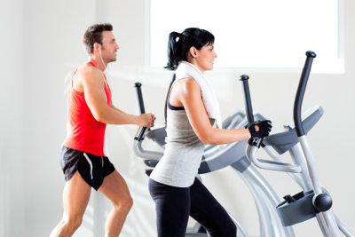Moderne Trainingsgeräte gewährleisten schonende Work-outs.