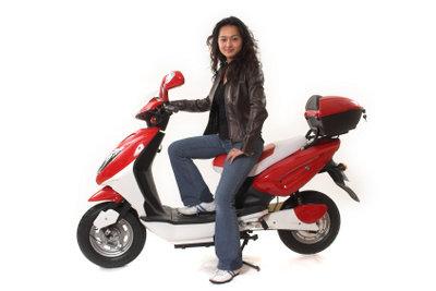 Auch einen Motorroller kann man noch aufmotzen.