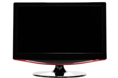 Der Blaupunkt-Flachbildfernseher arbeitet mit DVB-T.