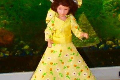 Viele Kleider wurden nur an Puppen präsentiert.