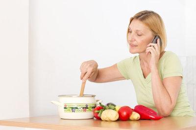 Mit vegetarischen Gerichten können Sie alle wichtigen Nährstoffe zu sich nehmen.