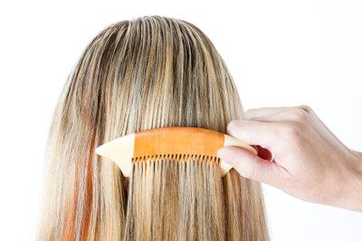 Machen blonde strähnen frauen selber Blonde Strähnen