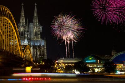 Silvester in Köln feiern