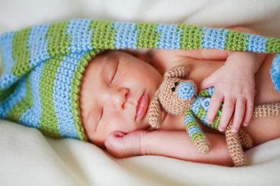 Reborn-Babys sind sehr lebensnah gestaltet.