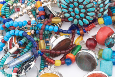 Mohave-Türkise treten in verschiedenen Farbtönen auf.
