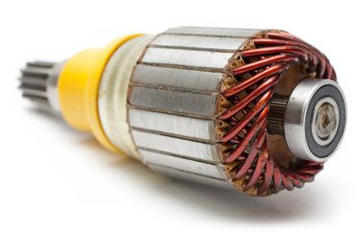 Es gibt viele Arten von Elektromotoren.