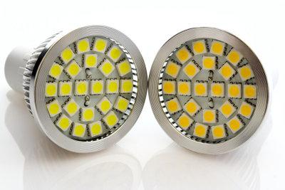 Auch LED-Lampen können gegebenenfalls gedimmt werden.