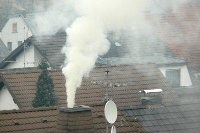 Freisetzung von Kohlenstoffdioxid durch Verbrennung