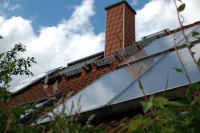 Solartherme und Etagenheizung klappt nicht.