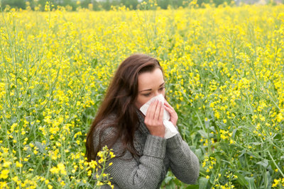 Eine Nasendusche hilft Allergikern.