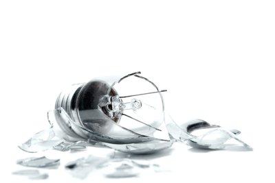 Wie viele Glühbirnen waren es in der zweiten Aufgabe?