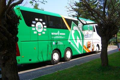 Werder Bremen ist ein beliebter Fußballverein.