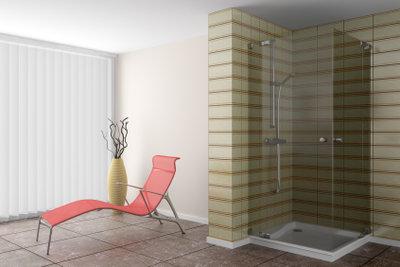 So elegant kann eine Dusche sein.