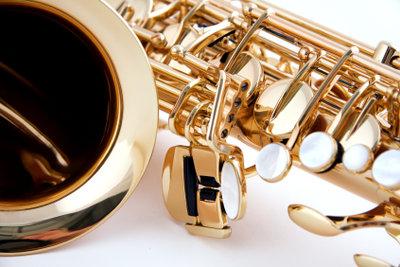 Ein Saxophon ist nicht einfach zu spielen.