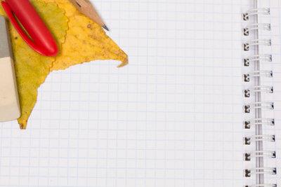 Blätter sind bekannt für ihre DIN-Norm.