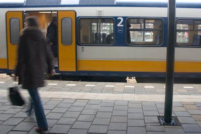 Die Bahn ist eines der meistgenutzten Verkehrsmittel.