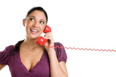 Telefone müssen richtig angeschlossen werden.