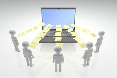"""Kopien einer E-Mail mit den Feldern """"CC"""" und """"BCC"""" an mehrere Empfänger versenden"""