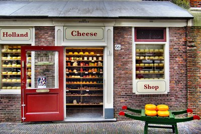 Sogar Käse kann Kult werden.