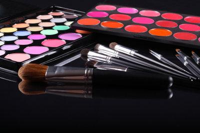 Ein indisches Make-up einfach nachschminken