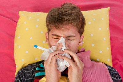 Nasenduschen helfen bei Erkältung.