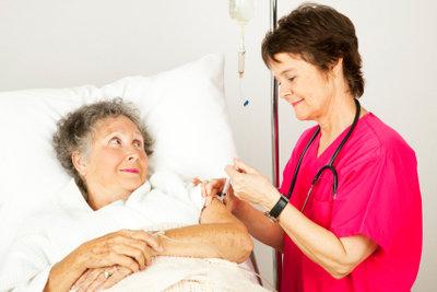 Pflege für Hilfebedürftige nach Krankheit