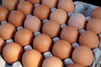 Ohne Stempel dürfen Eier nur vom Erzeuger an den Endkunden verkauft werden.