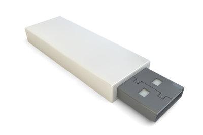 Nicht jeder USB-Stick kann vom Autoradio gelesen werden.