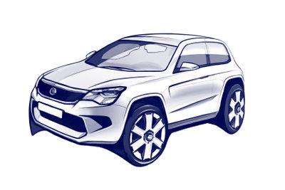Ein SUV ist eine relativ neue Fahrzeugklasse.