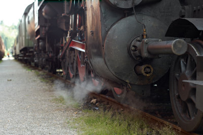 Dampflokomativen dienen heutzutage fast nur noch zu Show-Zwecken.
