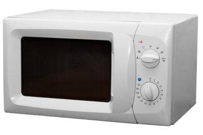 Eine Standard-Mikrowelle ist einfach bedienbar.