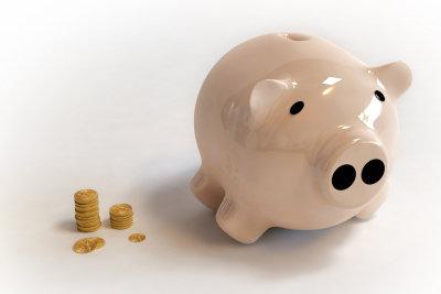 Gesparte Steuern passen gut ins Sparschwein.