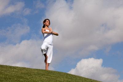 Lotus-Yoga beruhigt Körper und Seele.