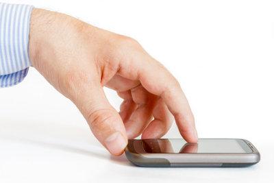 Einrichten des mobilen Internets geht ganz schnell