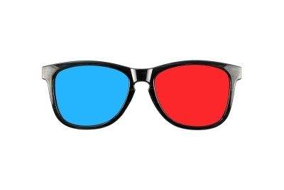 Mit der 3D-Brille räumlich sehen.