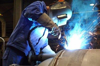 C45 Stahl eignet sich schlecht zum Schweißen.