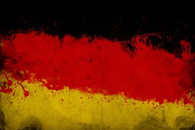 Deutschland im Glas darf auf der Fanparty nicht fehlen.