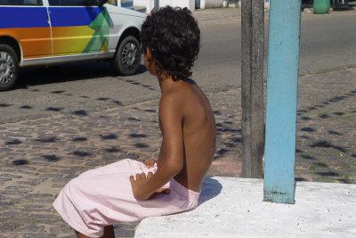 In Südamerika gibt es viele Straßenkinder.